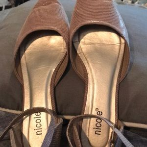 Nicole Shoes - 3/$15 SALE ❤️Beige Flats